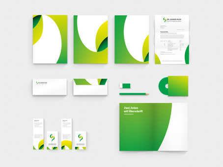 Corporate Design for Dr. Gasser-Puck