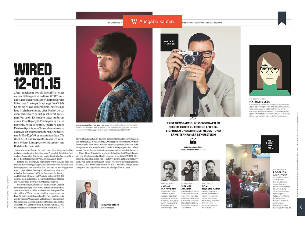 wired germany app magazine
