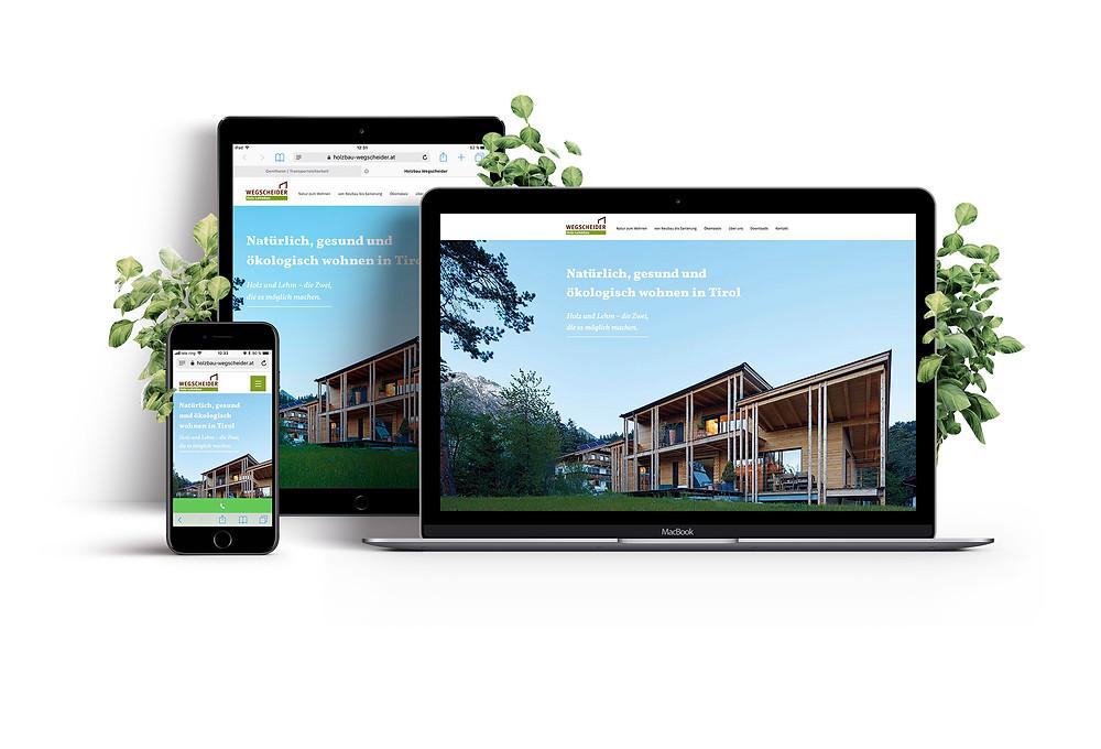 Holzbau Wegscheider Wix Website