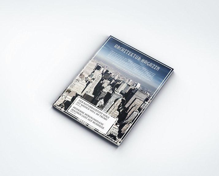 achitecture magazine layout design