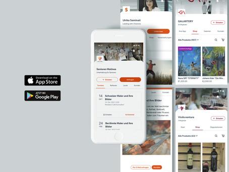 Apps mit Website-Koppelung in Echtzeit