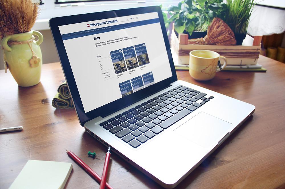 Blickpunkt Wix Website