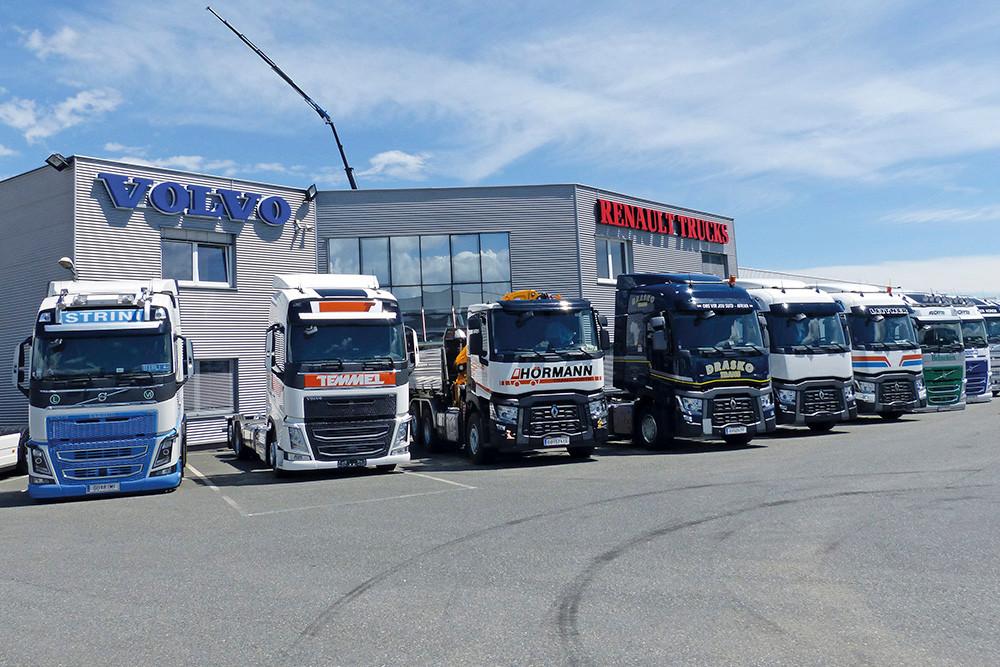 Volvo und Renault Trucks