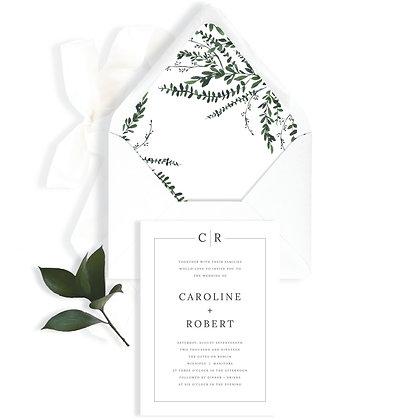 CAROLINE - INVITATION
