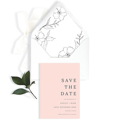 KAYLEY - SAVE THE DATE