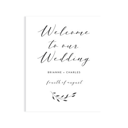 BRIANNE - WELCOME SIGN