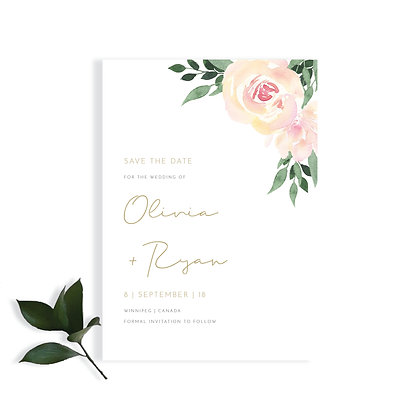 OLIVIA - SAVE THE DATE
