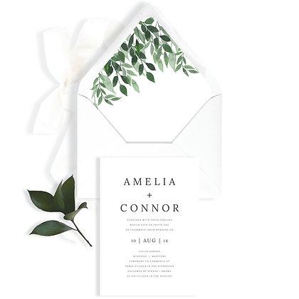 AMELIA - INVITATION