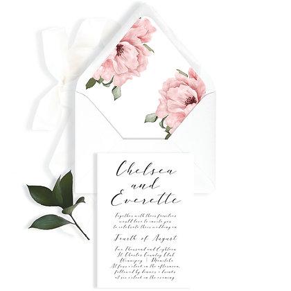 CHELSEA - INVITATION