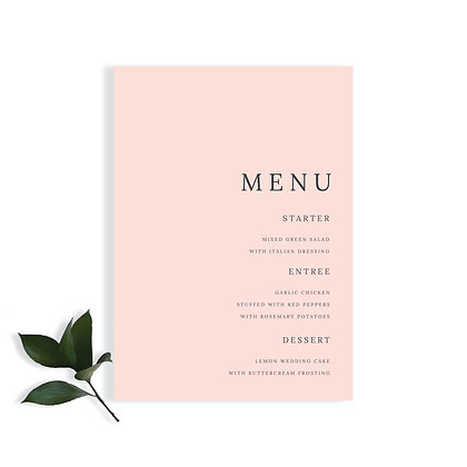 KAYLEY - MENU