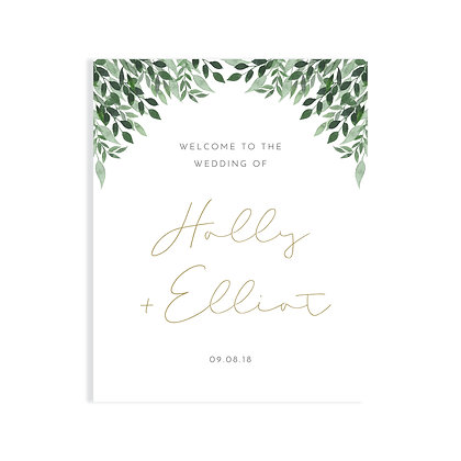 HOLLY - WELCOME SIGN