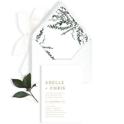 ADELLE - INVITATION