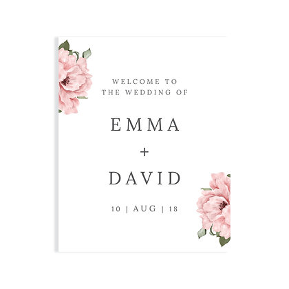 EMMA - WELCOME SIGN