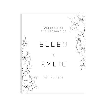 ELLEN - WELCOME SIGN