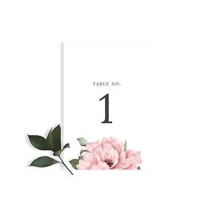 EMMA - TABLE NUMBER