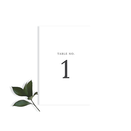 ADELLE & KAYLEY - TABLE NUMBER