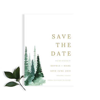 SOPHIA - SAVE THE DATE