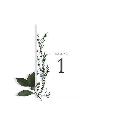 ANNA - TABLE NUMBER