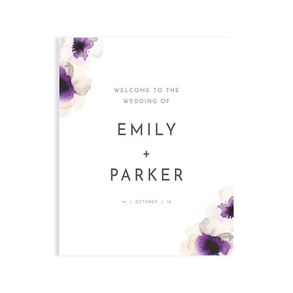 EMILY - WELCOME SIGN