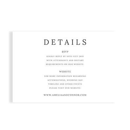 AMELIA - DETAILS