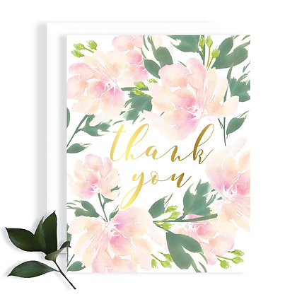 FLORAL - THANK YOU