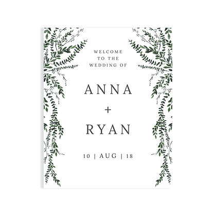 ANNA - WELCOME SIGN