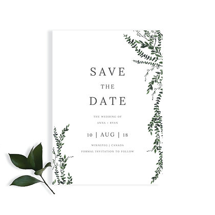 ANNA - SAVE THE DATE