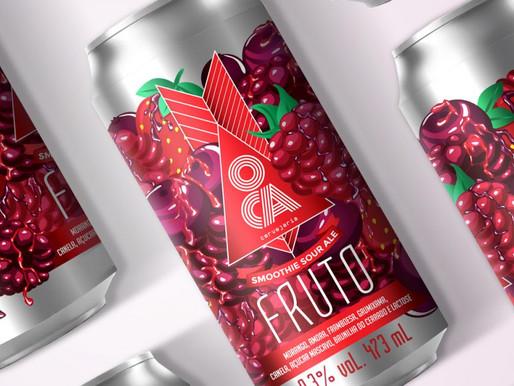 OCA lança primeira cerveja da sua nova série: Fruto
