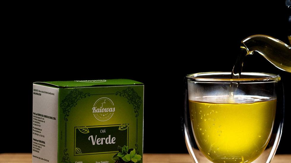 Cx de chá Verde com 10 saches