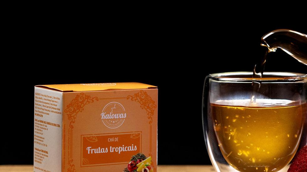 Cx de chá Frutas tropicais (Maça,Hibisco,Morango, Cha mate, Abcaxi, capim cidró