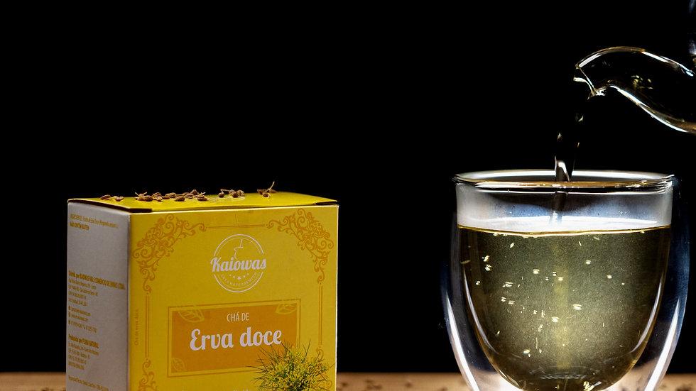 Cx de chá Erva Doce com 10 saches