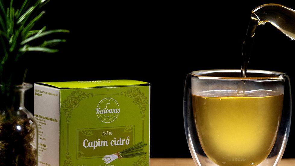Cx de chá Erva Cidreira com 10 saches