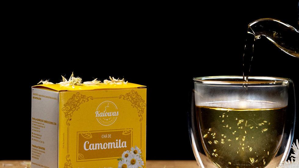Cx de chá Camomila com 10 saches