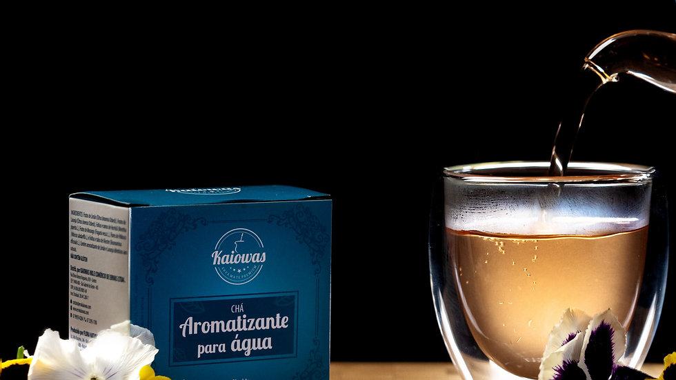 Cx de chá Aromatizante de Agua (Limão, Laranja,Hortelã, Morango,Hibisco,alecrim)