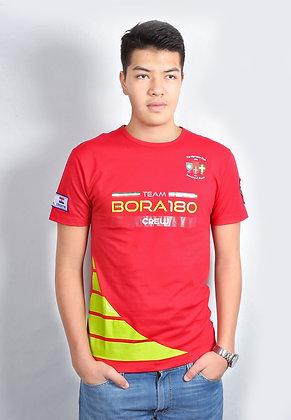 T-Shirt - Tango Red