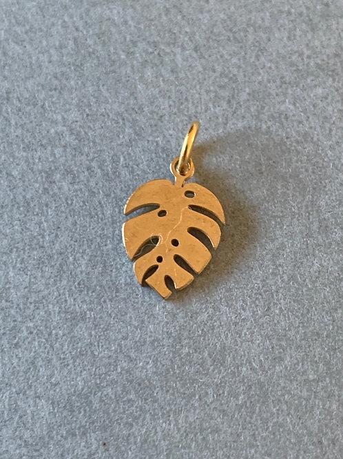 Palm leaf charm