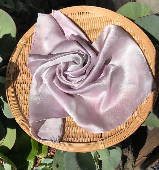 Lavander Silk Scarf