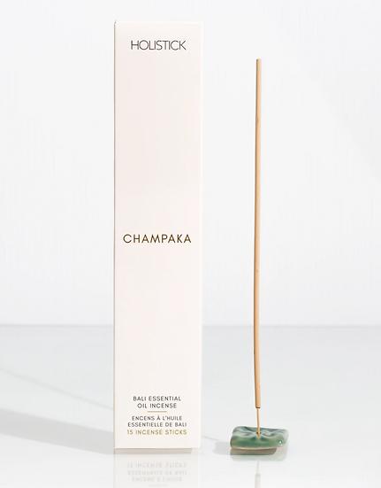 Champaka Incense + Ceramic Holder