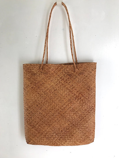 Woven Rattan Bag (Copper)