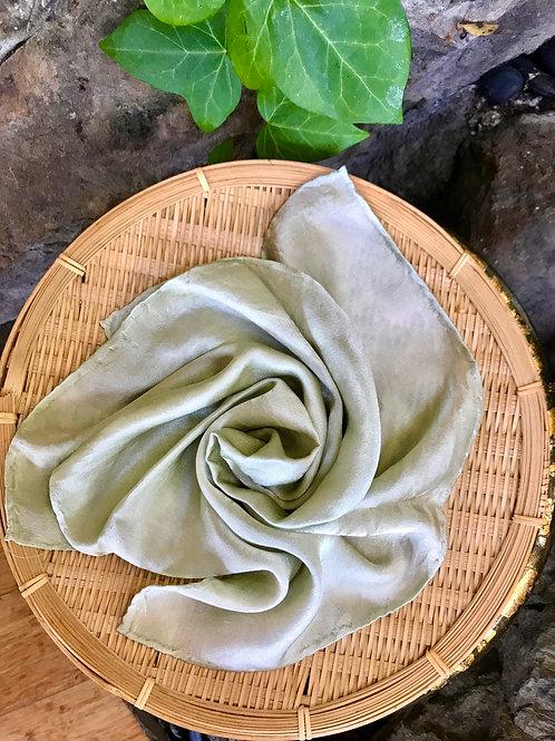 Sage Silk Scarf