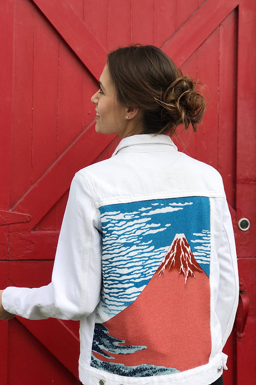 Mt. Fuji Jacket (White)