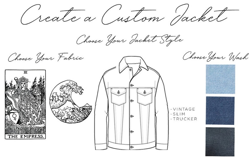 Gift Certificate for One Upcycled Denim Jacket