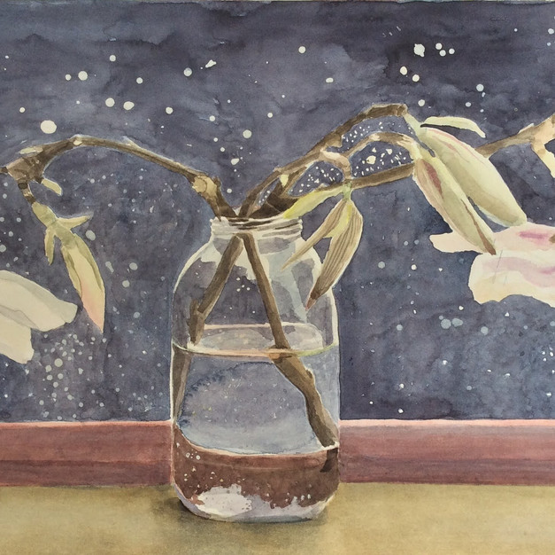 Blossom in a Jar (Sold)