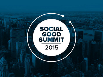 Social Good Summit NY Sep 2015