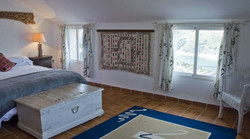 Lake view in master bedroom