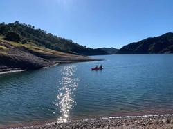 Lake cayaking.