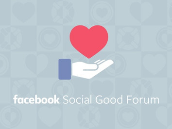 Facebook announced Social Good initiatives