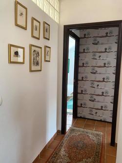 Hallway on upper floor.