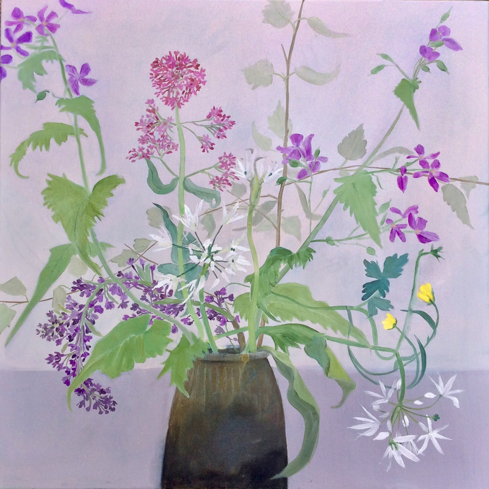Wild Flowers with Lilac