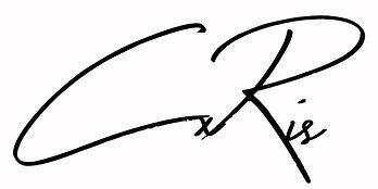CxRis Cursive Logo